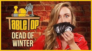 Dead of Winter: Ashley Johnson, Grant Imahara, and Dodger Leigh Join Wil Wheaton on TableTop S03E08