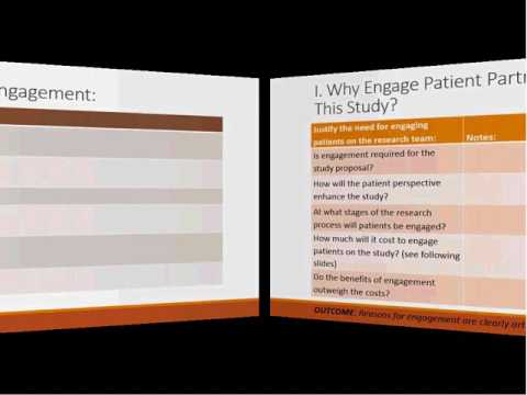 DII - A Patient Engagement Workbook for Research Teams