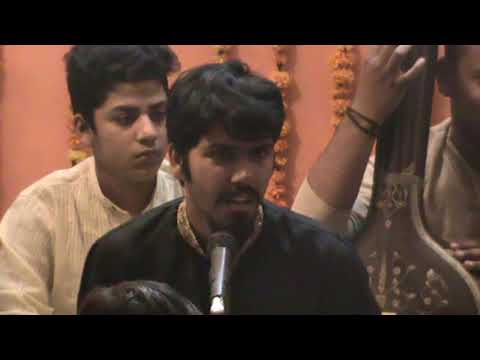 Ghulam Hasan Khan-Raag Puriyadhanashree at UGSK baithak,Delhi