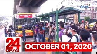 24 Oras Express: October 1, 2020 [HD]