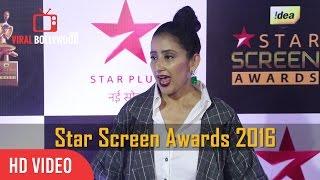 Manisha Koirala At Star Screen Awards 2016  Viralbollywood