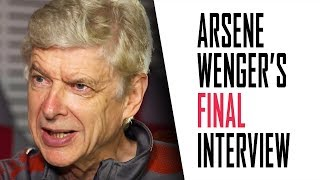 Arsene Wenger's FINAL interview | Part 1 - Highbury, winning the double, and upsetting Ian Wright
