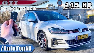 2019 VW Golf GTI Performance REVIEW POV Test Drive on AUTOBAHN & ROAD by AutoTopNL