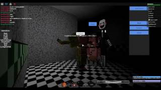 FNAF 2 Springtrap V.S Puppet Master (ROBLOX) Nights At Freddys Roleplay