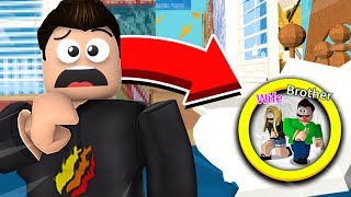 ROBLOX HIDE UND SEEK CHALLENGE! LITTLE BROTHER vs WIFE vs PrestonRoblox!