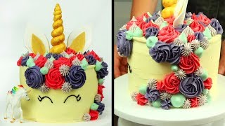 Best Birthday Cakes OF 2018 | Unicorn Cake , Barbie Cake And Many More | Hooplakidz Recipes