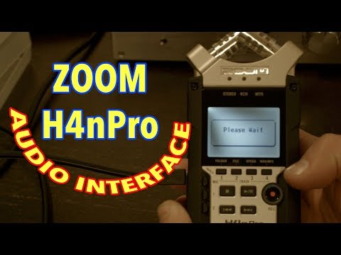 Zoom H4n Pro As Audio Interface For Mac Or PC