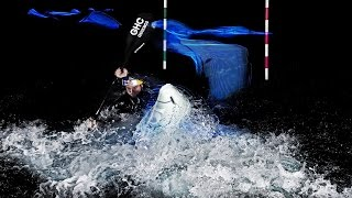 Kayak Light Painting w Vavra in Dubai | Vitek Ludvik Photography