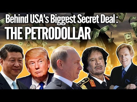 The Untold Story Behind USA's Biggest Secret Deal - The Petrodollar $