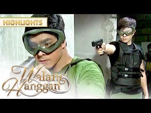 Nathan tinutukan ng baril si Daniel  Walang Hanggan
