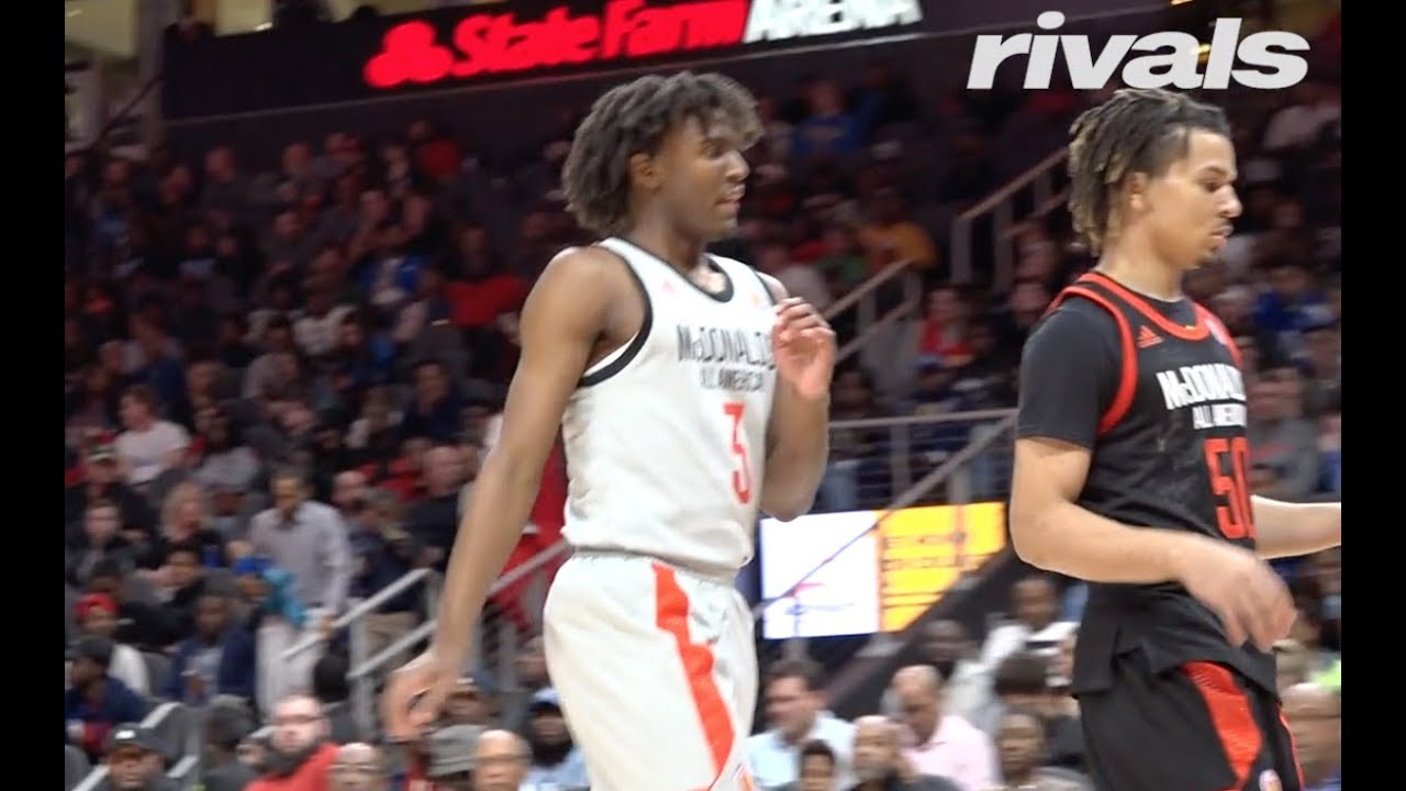 889984110a29 McDonald s All American Game  Tyrese Maxey Highlights - YouTube