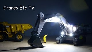 HK Liebherr R 9100 Mining Excavator (Radio Control) by Cranes Etc TV