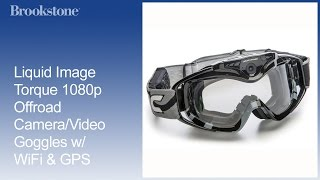 Liquid Image Torque 1080p Offroad Camera/Video Goggles w/ WiFi & GPS