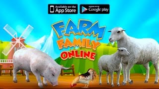 👍🐑🐄🐐🐄🐪🐃🦍Farm Animal Family: Online Simulator-Ферма животных-  By Foxie Games-Android