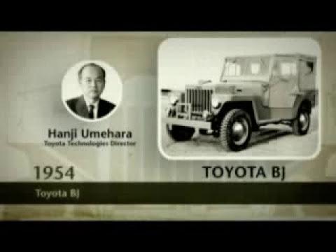Toyota LandCruiser - History