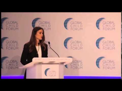 Princess Sofia of Sweden attended the Global Child Forum