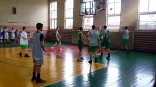 Чемпионат Одессы по баскетболу среди школьников. 106-я против 38-й