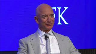 JFK Space Summit: Fireside Chat with Jeff Bezos