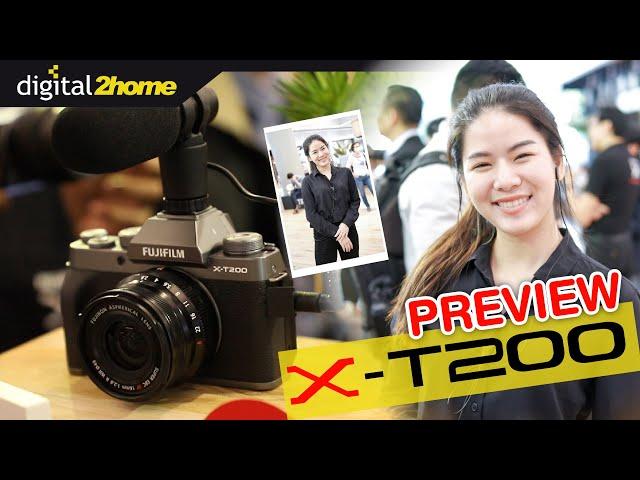 มาดู Fujifilm X-T200 กล้องรุ่นใหม่ล่าสุดจาก Fujifilm มาพร้อมช่องมองภาพ จอพับเซลฟี่ ช่องไมค์ 3.5