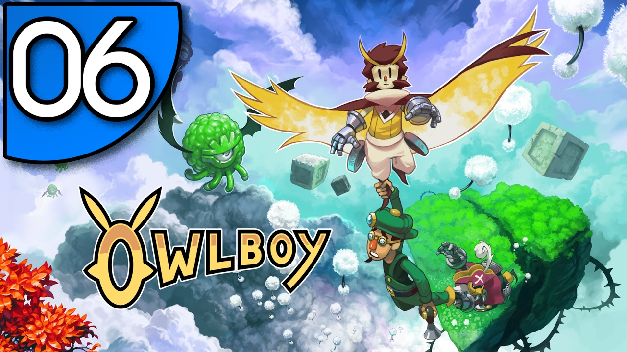 Owlboy Gameplay - 06 - Pirate attack at Advent