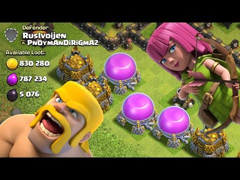 GREATEST LOOT ARMY!  TH9 Dark Elixir Time | Clash of Clans