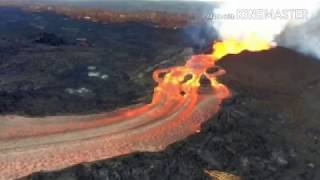 Lava From Kilauea's Eruption In Hawaii Is Flowing Faster Than You Can Run