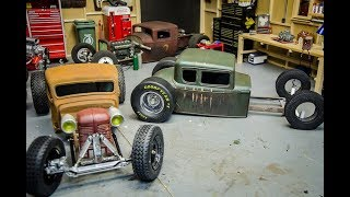Saturday Night in the Scale Garage, Episode #6, Shapeways Giveaway, Rat Rods and Monster Trucks