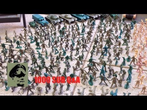 1000 Subs Q&A Part 2: Army Men collection, future films and