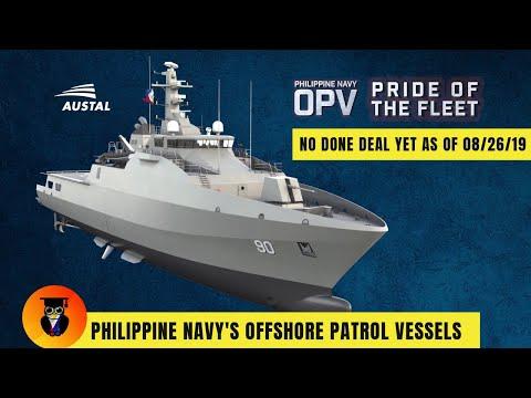 Philippine Navy Offshore Patrol Vessels - Austal Philippines