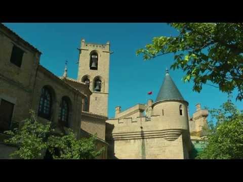 SPAIN Olite, Navarra (hd-video)