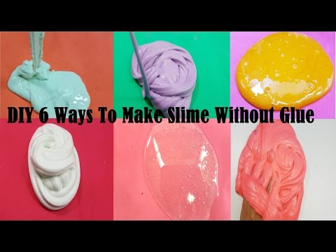 DIY 6 Ways To Make Slime Without Glue ! New Toys Channel Best Slime Collection 20M