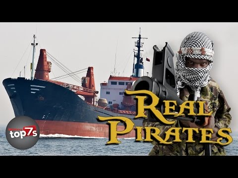 Top 7 Crazy Facts About Real Life Pirates (Somali Pirates)