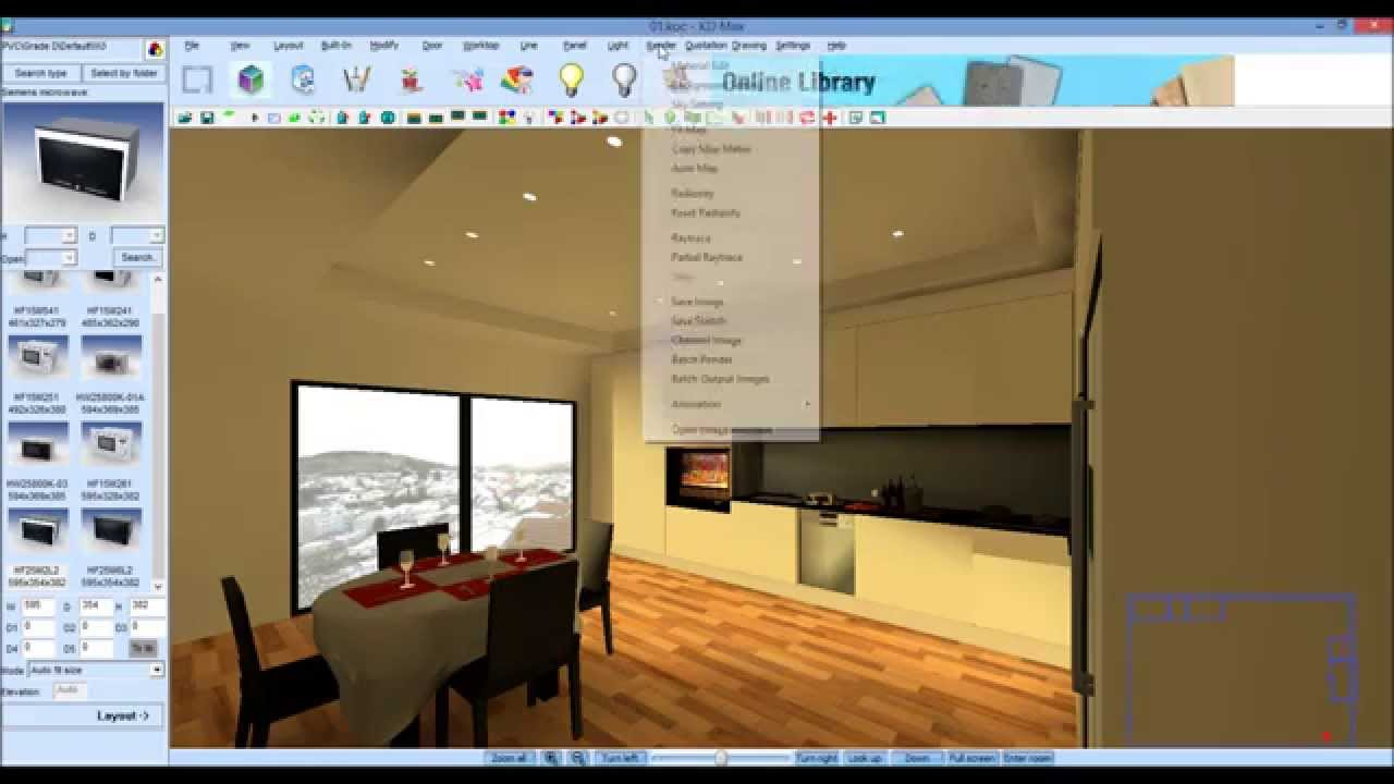 Como criar anima es em v deo no kdmax software de for Software decoracion interiores 3d gratis