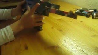 Автомат АК 74 і пістолет Маузер з конструктора LEGO.