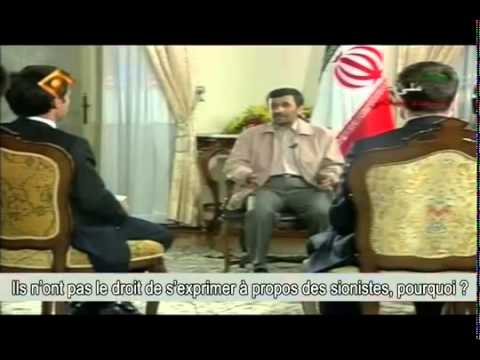 Interview non diffusée : David Pujadas - Mahmoud  Ahmadinejad