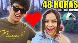 48 HORAS CON MI NOVIO *HotSpanish* Campando en una montaña