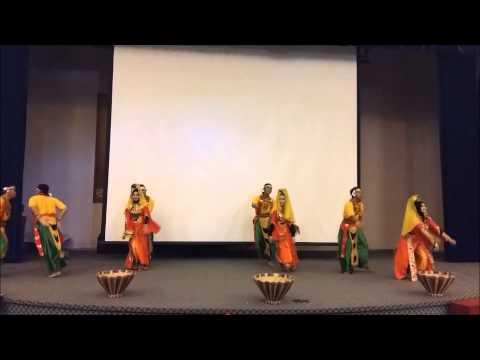 Bajau traditional dance with contemporary (UMS Sabah, 2015)