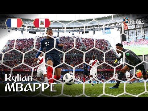 Kylian MBAPPE Goal - France v Peru - MATCH 21