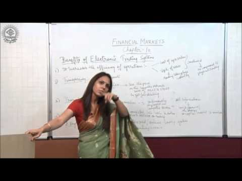Benefits of Electronic Trading System Class XII Business Studies by Dr Heena Rana
