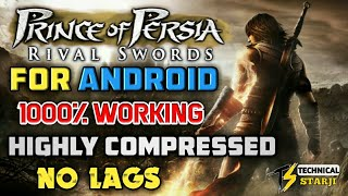 [OFFLINE] HOW TO DOWNLOAD PRINCE OF PERSIA RIVAL SWORDS || HIGHLY COMPRESSED PPSSPP IN HINDI