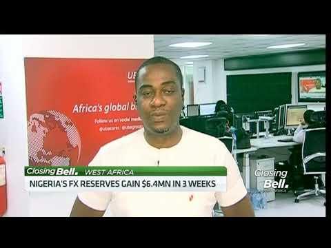 Nigeria's forex reserves gain $6.4mn in 3 weeks