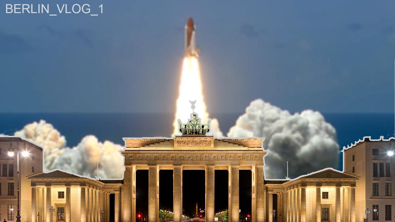 noah fliegt mit einem space shuttle nach berlin youtube. Black Bedroom Furniture Sets. Home Design Ideas