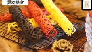 一口不沾平底锅就可以轻松驾驭的【蕾丝蛋卷】高颜值,好吃又简单,還可以做你們喜歡的顏色