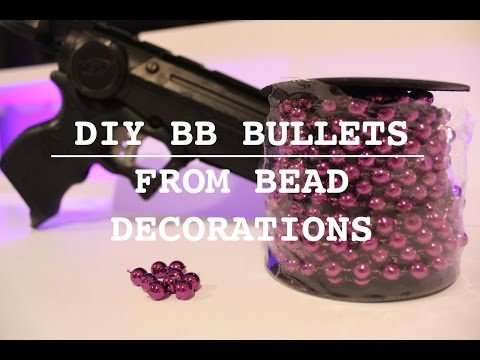How to Make Cheap BB Bullets!