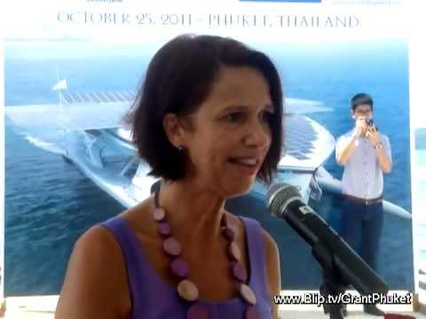 Largest Solar boat & 2 interviews in Phuket