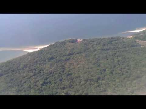 POUSO EM SANTARÉM - PA. ABORDO DO AIR BUS A320 DA TAM (HD)