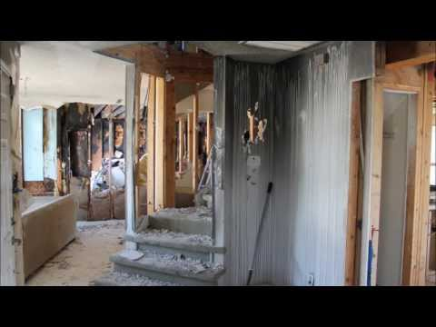 Fire Damage House Restoration - First Look