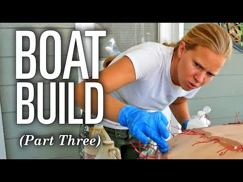 Emily Builds a Sailboat! (Part 3) - CLC Eastport Nesting Pram