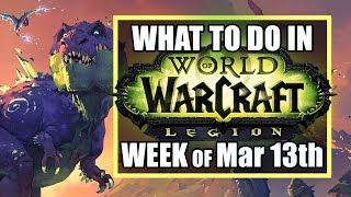 DINOSAUR MADNESS & FLYING IN THE STARS | Week of March 13th, 2018 | What's New in Wow | TradeChat