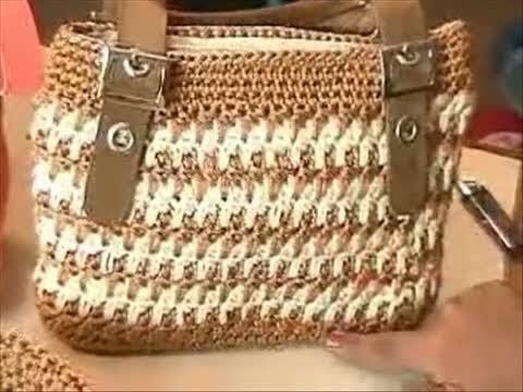 Patrones de bolsos tejidos youtube - Como hacer bolsos tejidos ...